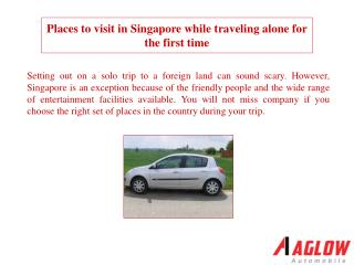Places to visit in Singapore while traveling alone for the f