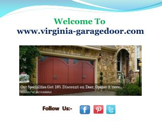 Garage Door Service in Centerville