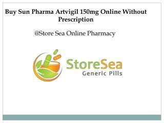 Buy Sun Pharma Artvigil 150mg online without prescription