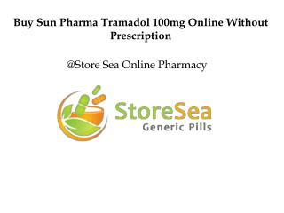 Buy Tramadol 100mg online without prescription