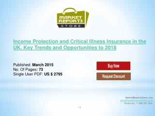 Income Protection and Critical Illness Insurance in the UK
