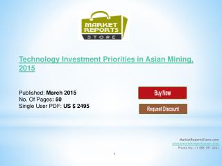 Asian Mining Technology Investment 2015