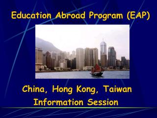 Education Abroad Program EAP