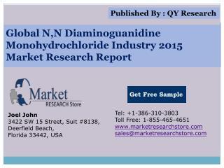 Global N,N Diaminoguanidine Monohydrochloride Industry 2015