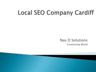Local SEO Company Cardiff