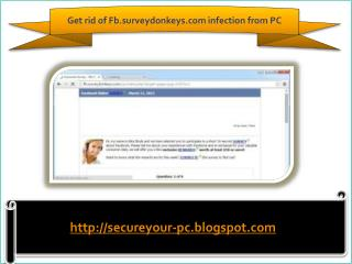 Remove Fb.surveydonkeys.com (Removal Guide), How To Remove F