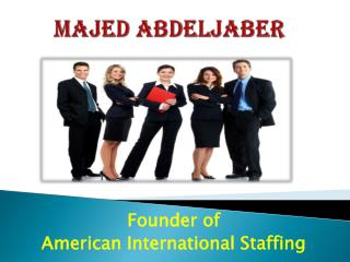 Majed Abdeljaber - AI Staffing