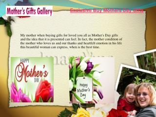 Buy Mothers Day Gifts