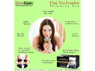 Healthy Body With Slimming Herbal Tea