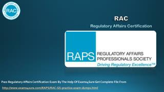 Regulatory Affairs Certification Online Study