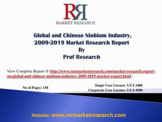 Niobium Industry Global and China 2019 - Manufacturing Tech