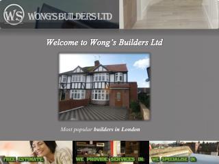 Wong�s Builders Ltd