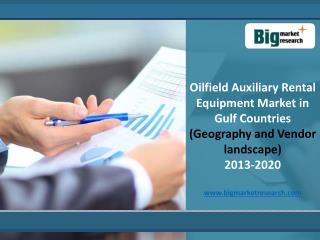 Gulf Countries Oilfield Auxiliary Rental Equipment Market