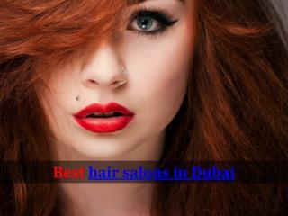 Best hair salons in Dubai