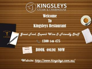Kingsleys Offers Fresh Fantastic Seafood in Brisbane