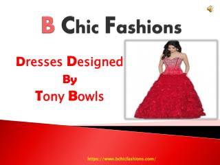 Tony Bowls Prom Dresses Buy Via B Chic Fashions