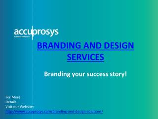 Branding Design Solutions - accuprosys