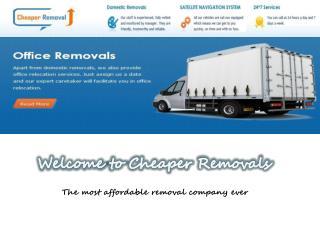 Cheaper removals