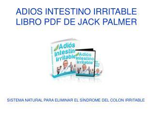 Adios INtestino Iritable libro pdf de Jack Palmer