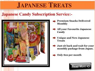 Buy Japanese Candy Box Subscription