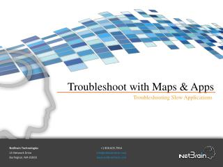 Troubleshooting Slow Applications | NetBrain