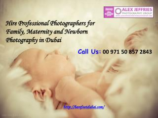 Hire Professional Photographers for Family, Maternity and Ne