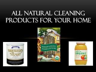 All natural cleaning products for your home