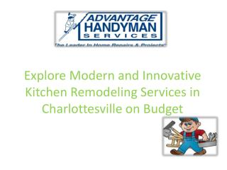 Explore Modern and Innovative Kitchen Remodeling Services