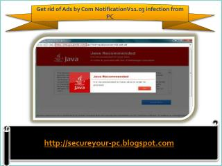 Remove Ads by Com NotificationV11.03 (Removal Guide), How To