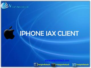 IPHONE IAX CLIENT