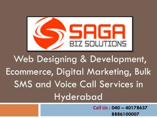 Website Designing, Web development and SEO Services in Hyder
