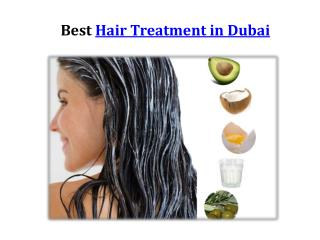 Best Hair treatment in Dubai