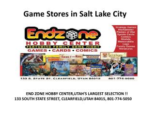 Game Stores Salt Lake City
