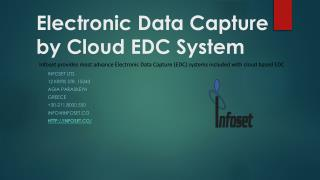 Electronic Data Capture by Cloud EDC System