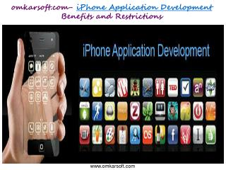 omkarsoft.com- iPhone Application Development Benefits