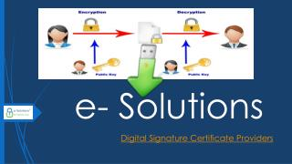 Digital Signature Certificate Providers in Delhi