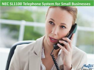 NEC SL1100 Telephone System for Small Businesses