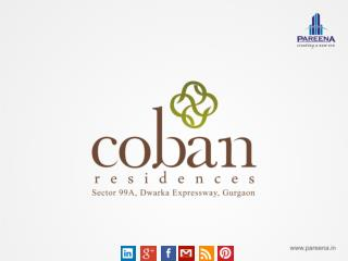 Coban Residences Best Future Residential Project On Dwarka E