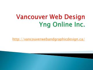 The authentic Vancouver Web Design