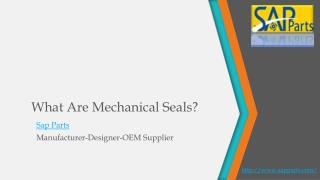 What are Mechanical Seals?