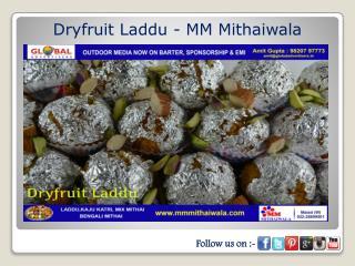 Dryfruit Laddu - MM Mithaiwala