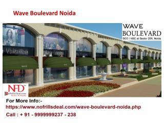 Wave Boulevard Sector 25a Noida @9999999238