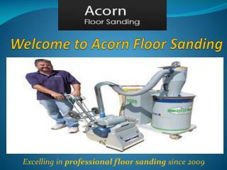 Floor Sanding Winchester - Acorn Floor Sanding