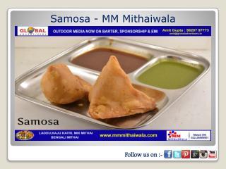 Samosa - MM Mithaiwala