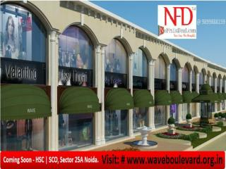 Ultra Luxury spaces in the heart of Noida with Wave Boulevar