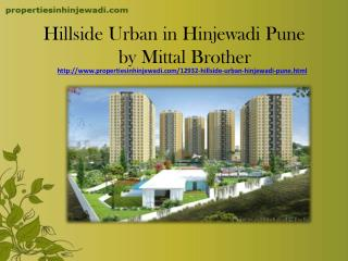 Residential Apartments in Hillside Urban Hinjewadi Pune