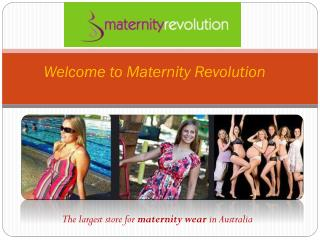 Maternity Clothes Online - Maternity Revolution