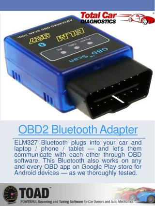 ELM 327 Bluetooth