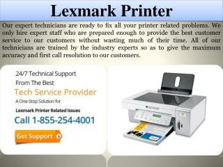 Lexmark Printer  Tech Support