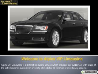 Distinct Limousine Service- Alpine VIP Limousine